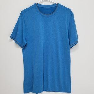 Lululemon Blue Tee Short Sleeve